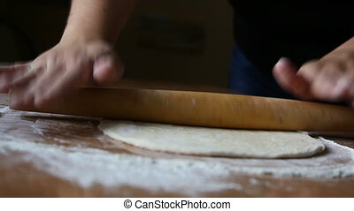 rocking dough - Woman rocking rocking dough