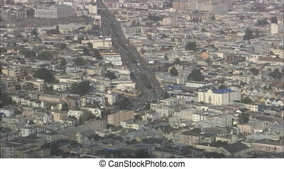 CastroZoomOutToDowntownSF.mov - Zoom out from Castro...