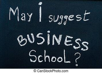 概念, ビジネス, 木製である, フレーム, 黒板, 印, チョーク, 成功した, メッセージ, 開いた, 白, 手書き