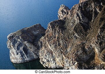 one of stone capes on the Baikal lake