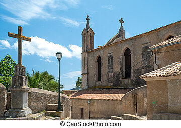 Church, Cross and Blue Sky (2)