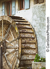 water mill - old water mill, Germany