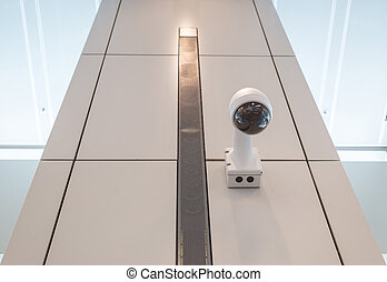 CCTV Security camera wall ceiling