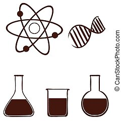 A simple science experiment - Illustration of a simple...
