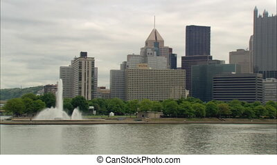 Downtown Pittsburgh Zoom - Zoom out and pan right to XLS of...