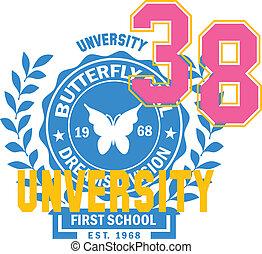 sporty buttefly logo