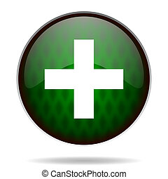 plus green internet icon