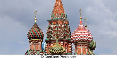 Moscow, Russia, Red Square, Cathedral of Intercession of...
