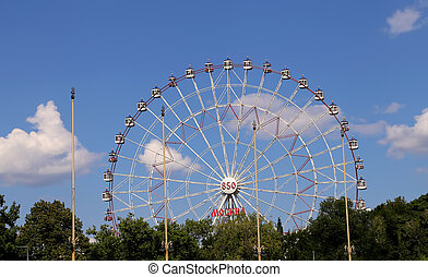 Ferris Wheel VDNKh All-Russia Exhibition Centre is a...