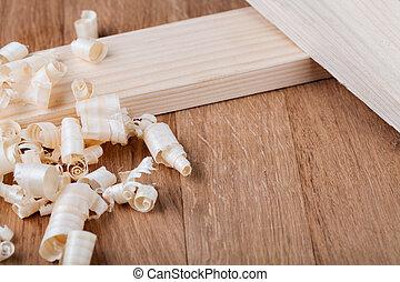 madera, shavings, ,