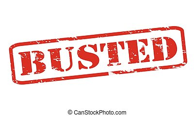 Busted Vector Clipart EPS Images. - 10.4KB