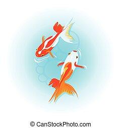 Japanese goldfishes