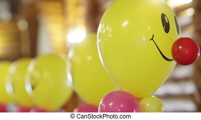 Severals balloons - Helium-filled balloons to children's...