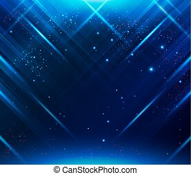Abstract striped background with light effects. Vector...