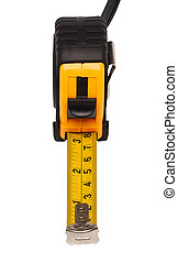 Tape measure - Yellow steel tape measure. Repair and...