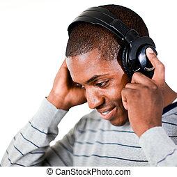 音樂, 听, 人
