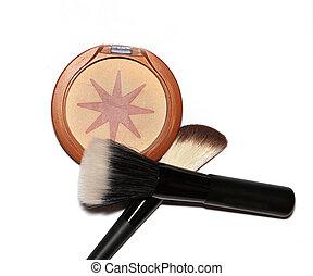 Makeup bronzer - Facial make up bronzer with applicator...