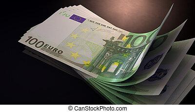 Euro Bank Notes Spread