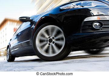 Auto, Bewegen, schnell