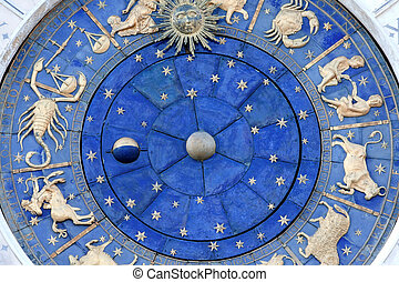 St Marks Astronomical Clock - St Mark's clock housed in the...