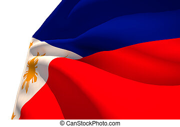 Philippine Flag - Flag by 3d render