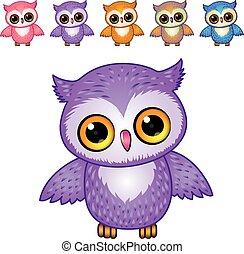 owl - vector