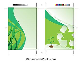 Going Green Postcard Template