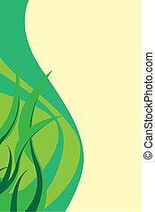Green Foliage Layout