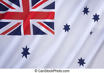 Australian White Ensign - a naval ensign used by ships of...