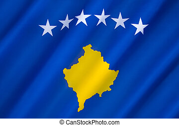 Flag of Kosovo - The flag of the Republic of Kosovo was...