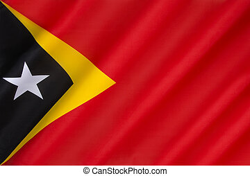 Flag of East Timor - Flag of the Democratic Republic of...
