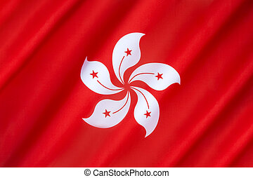Flag of Hong Kong - Flag of the Hong Kong Special...