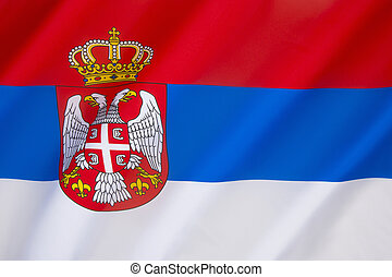 Flag of Serbia - The same tricolor, in altering variations,...