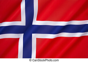 Flag of Norway - The flag of Norway is a blue Scandinavian...