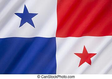 bandera, de, Panamá,