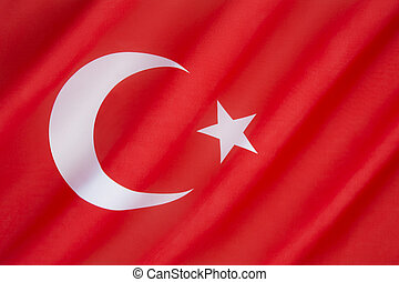Flag of Turkey - National flag of Turkey - The flag is often...