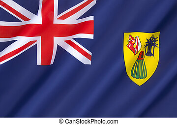 Flag of the Turks and Caicos Islands - adopted on 7th...