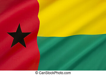 Flag of Guinea-Bissau - adopted in 1973 following...