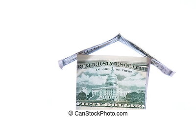 House made of Dollars in HD