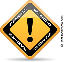 Warning exclamation sign