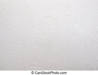 Expanded polystyrene sheet useful as a background