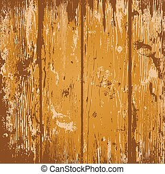 Wood background - Wood planks vector background