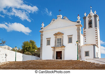 The old church of the village Estoi. Faro, Portugal.