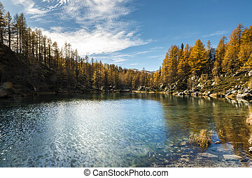 Lake of the witches, Devero Alp - Lake of the witches in...