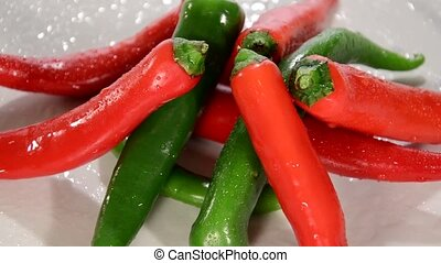 chillies - Hot Chili Peppers Rotating