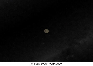 Moon Flyby. CG. ntsc