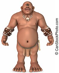 Troll-3D Fantasy Figure - 3D Render of an Troll