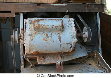 Old Heavy Machinery