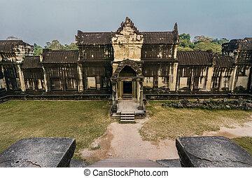 Angkor Wat,Siem Reap,Cambodia. - Angkor Wat was first a...