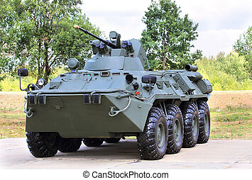 Transport armored vehicle - Armoured vehicle for infantery...